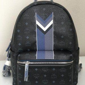New GORGEOUS MCM Back Pack Studded Bag